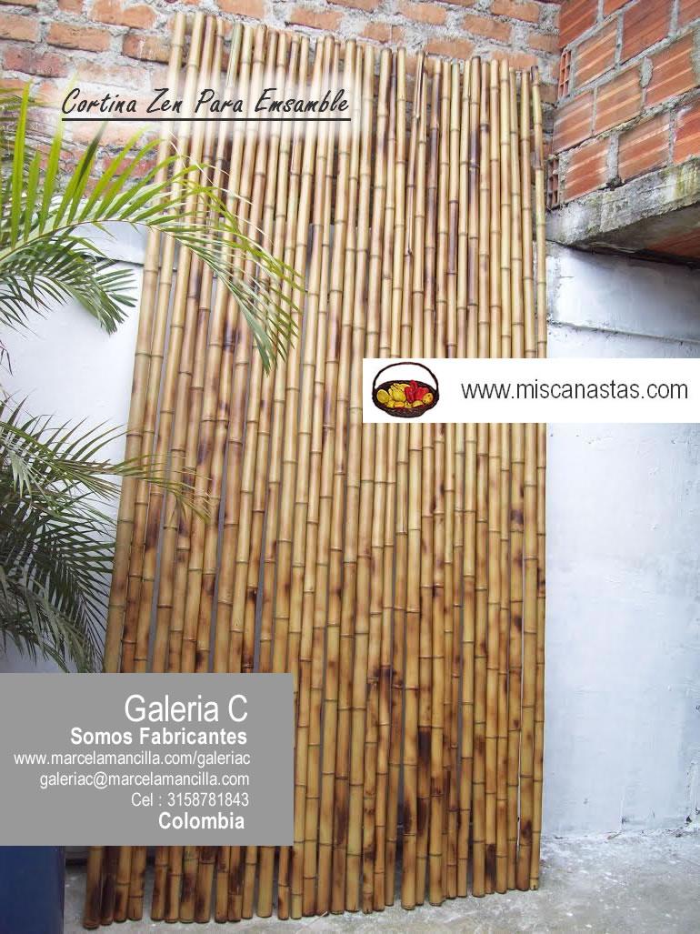 Canastas en mimbre fabricante de articulos en mimbre - Cortina de bambu ...
