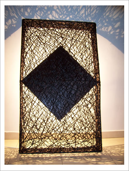 lampara artesanal guadua:
